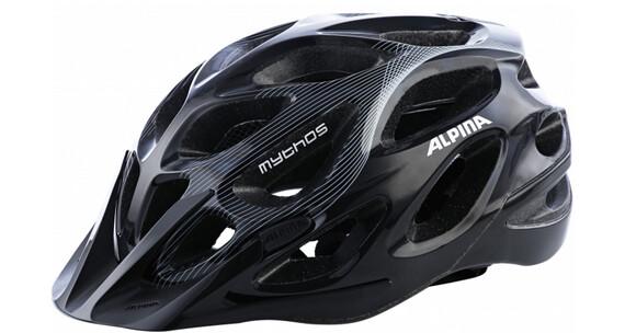 Alpina Mythos 2.0 Helm black-white lines